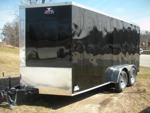 Enclosed Trailer 14ft x 7ft for Sale in Tacoma, WA