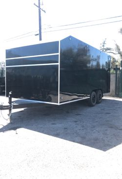 8.5x18x7 ENCLOSED CARGO TOY HAULER TRAILER for Sale in Anaheim,  CA
