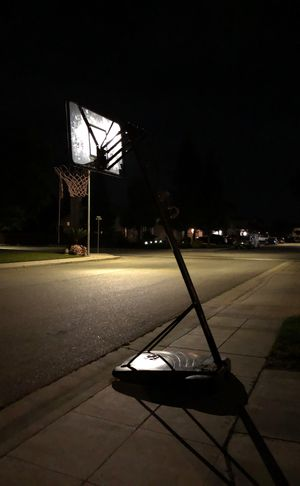 This basketball hoop used by lebron James 500 for Sale in Clovis, CA
