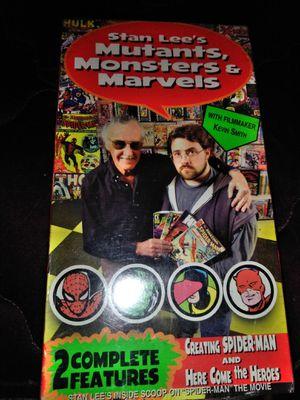 Stanlees mutants marvels vhs for Sale in Lynwood, CA