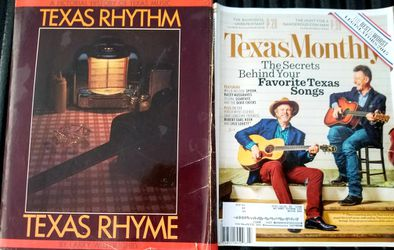 TEXAS RHYTHM TEXAS RHYME BOOK PLUS TEXAS MUSIC SONGS for Sale in Waco,  TX