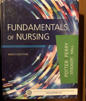 Fundamental of Nursing 9 edition for Sale in Tacoma, WA