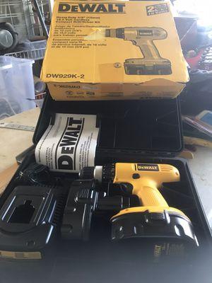 NEW DEWALT DW929K-2/ HD 3/8 18v Cordless still/driver kit for Sale in Punta Gorda, FL