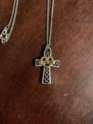 Claddagh Cross Necklace for Sale in Verona, PA