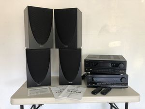 Pioneer audio/video multi channel receivers with speakers for Sale in Costa Mesa, CA