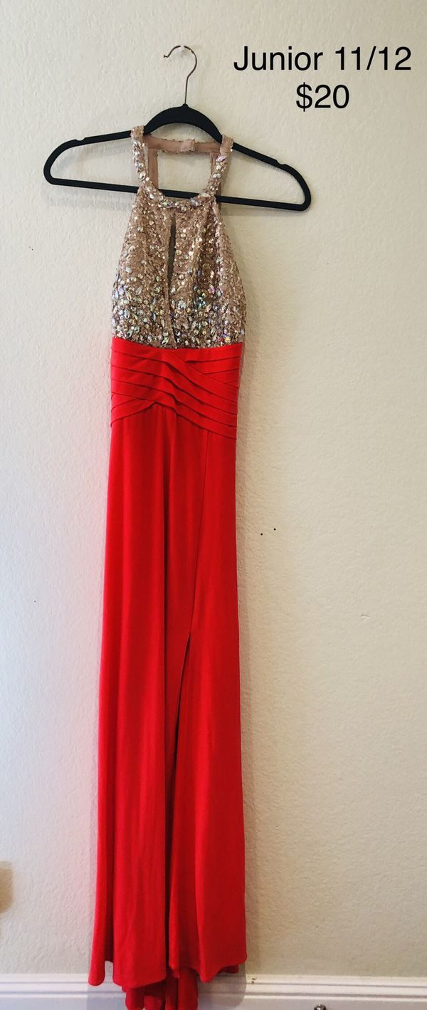 Prom or party backless gown/dress
