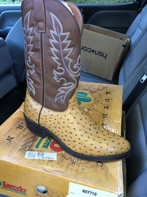 Laredo ostrich boots for Sale in Brentwood, TN