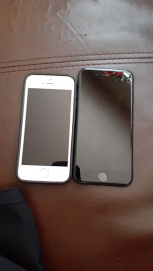 Iphone 7 and iphone 5 comes with free case for the iPhone 5 for Sale in Carmichael, CA
