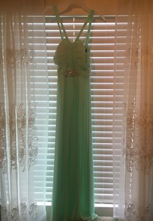 Mint Green Prom Dress Size 10 for Sale in Corona, CA