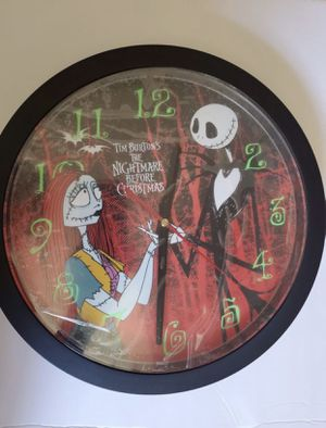 The Nightmare Before Christmas wall clock for Sale in Fontana, CA