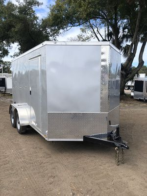 Enclosed trailers 7x12TA Diamond @ Brothers Trailers for Sale in Tampa, FL