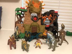Fisher Price Imaginext Dino Fortress Playset for Sale in Victorville, CA