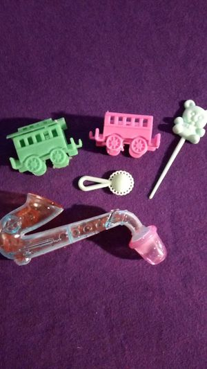 Vintage/newer? plastic toy batch. Cake decor maybe?/ for Sale in Tallahassee, FL