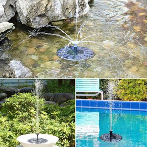 Floating Solar Pool Pond Fountain Spray Head for Sale in Hemet, CA