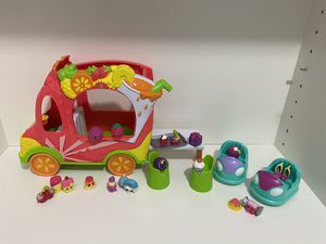 Shopkins Food Truck plus 19 shopkins for Sale in FL, US