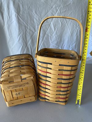 Longaberger baskets for Sale in Sacramento, CA