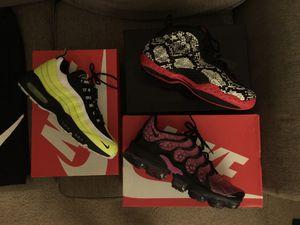 Men's Nike's - 10.5 & Champion Shorts/Nike Shorts - L & Nike Socks: Selling As Bundle Deal! for Sale in Durham, NC