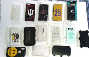 Assorted mostly new iphone cases(few android) for Sale in Cape Girardeau, MO