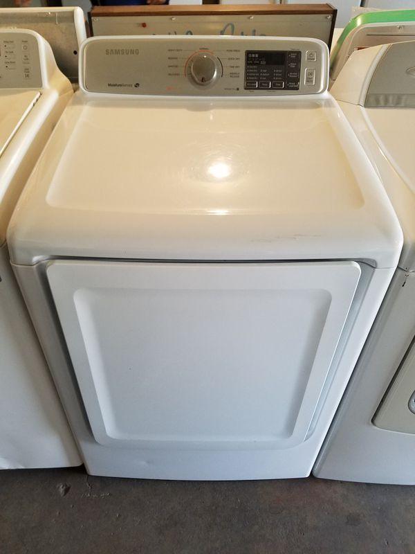 Samsung washer & electric dryer set