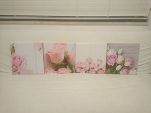 Pink Floral canvas prints for Sale in Tampa, FL
