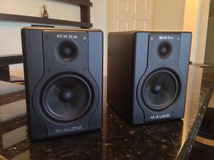 Bx5a Deluxe M audio speakers for Sale in Las Vegas, NV
