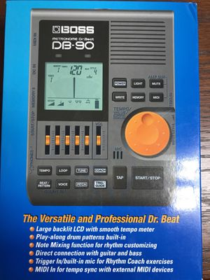 Boss Dr. Beat DB-90 electronic Metronome new sealed ! for Sale in Houston, TX