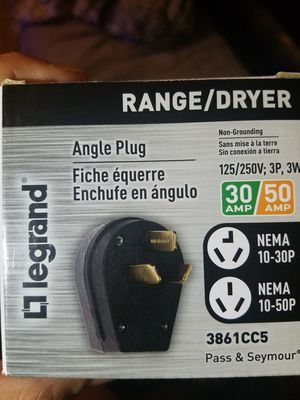3 prong dryer plug no cord included for Sale in NC, US