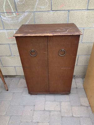 Antique cabinet for Sale in Downey, CA
