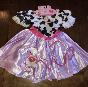 New Fancy Nancy Poodle Costume Dress Girls 4-6X for Sale in San Jacinto, CA