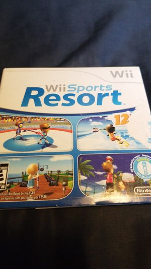 Wii sports resort for Sale in San Diego, CA