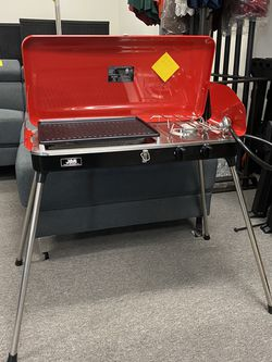 Brand New 20000 btu Propane Portable 2 Burners BBQ Grill Outdoor Camping Stove for Sale in Anaheim,  CA
