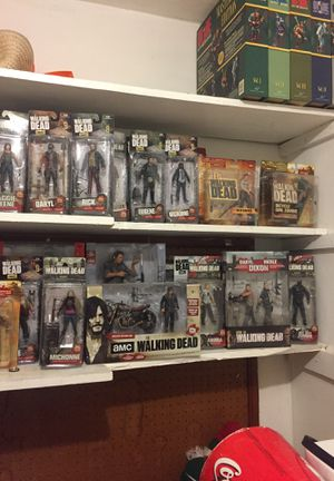 The Walking Dead Action Figure Collection for Sale in Hialeah, FL