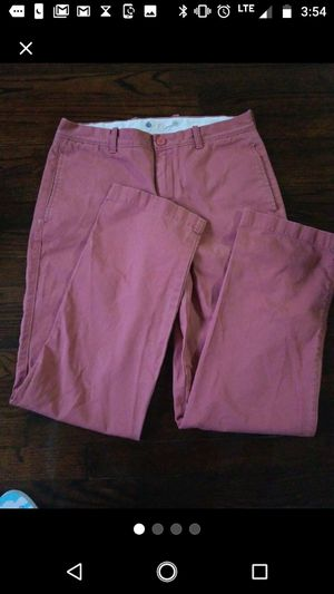 J.Crew Pink Pants Chinos 32 ×32 Men for Sale for sale  New York, NY