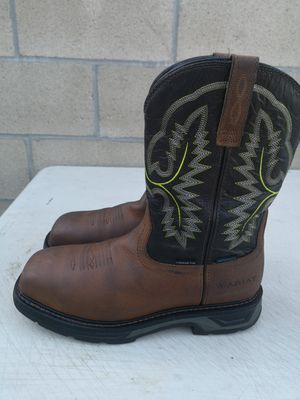 Ariat carbón toe work boots size 9.5 D for Sale in Riverside, CA