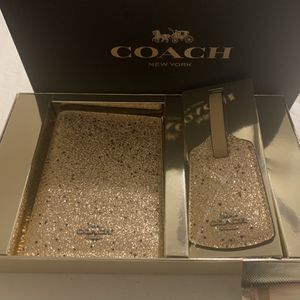 Coach travel Set Gold for Sale in Fort Lauderdale, FL