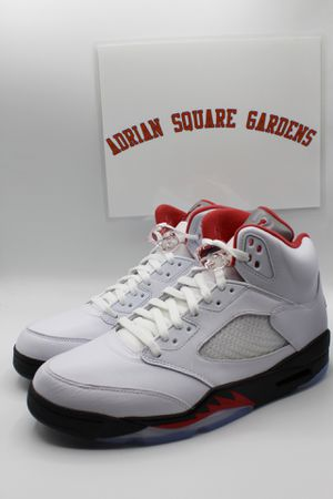 Air Jordan 5 Retro Fire Red Silver Tongue sz 9.5 Brand New DS for Sale in Brooklyn, NY