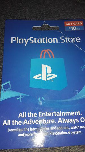 Playstation Card for Sale in Santa Clara, CA
