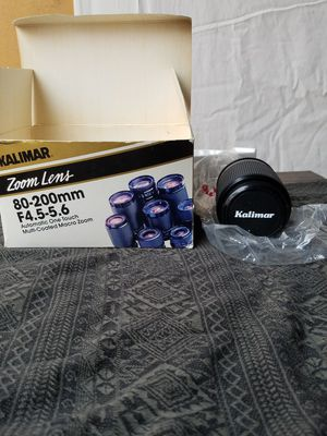 Used, Kalimar 80-200MM F4.5-5.6 Auto One Touch MC Macro for Sale for sale  Los Angeles, CA