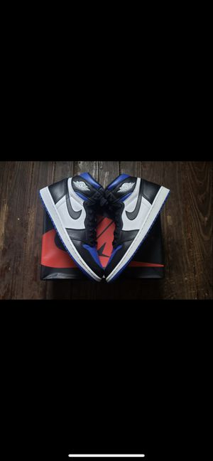 Jordan 1 royal toe size deadstock for Sale in Hazelwood, MO