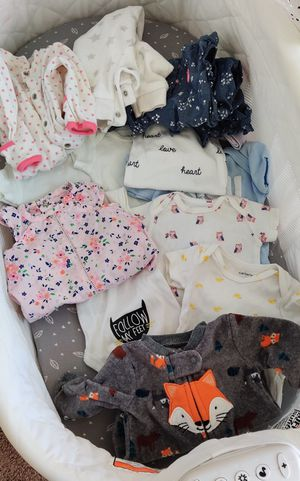 Baby clothes 0-3 months for Sale in San Diego, CA