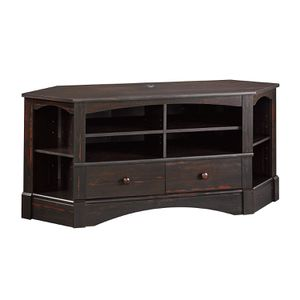Sauder Harbor View Corner TV Stand in Antique for Sale in Solana Beach, CA