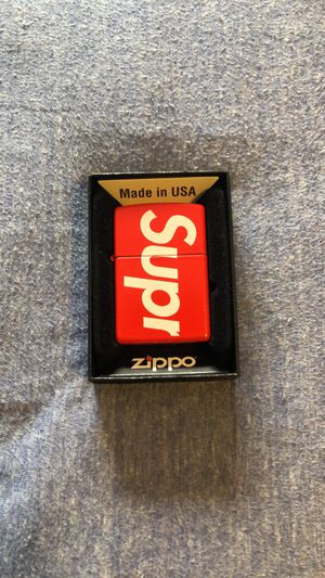 Supreme Zippo Lighter for Sale in Niles, IL