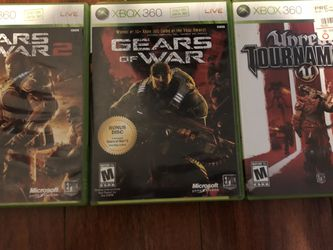Gears Of War Xbox 360 Collection Games ($15 For All) for Sale in Rowland Heights,  CA