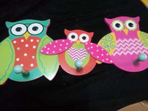 Owl Decor Hat/ Coat Hanger for Sale in Tacoma, WA