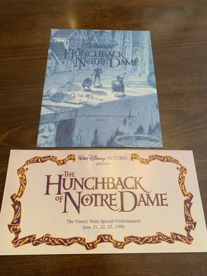 Disney Vintage Lithographs for Sale in Raleigh, NC