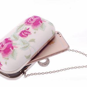 New Women's Bag Personalized Clutch Chain Handbag Diamond Embroidered Cheongsam for Sale in Fort Lauderdale, FL