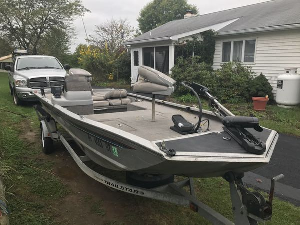 96 Bass Tracker Pro Team 185 Jet Boat for Sale in Newport, PA - OfferUp