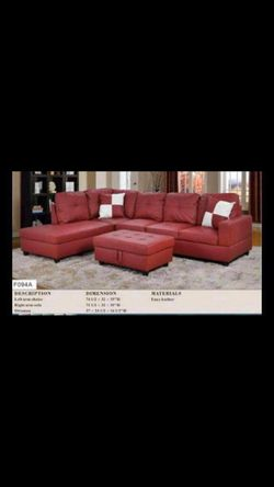 BRAND NEW SECTIONAL COUCH FURNITURE SET IN ORIGINAL BOX for Sale in Ontario,  CA
