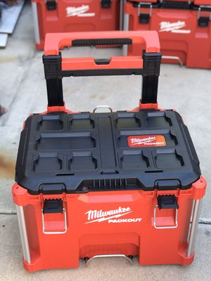 Milwaukee PACKOUT toolbox....$100..... pickup only.... brand new..... first come first serve..... for Sale in Rialto, CA