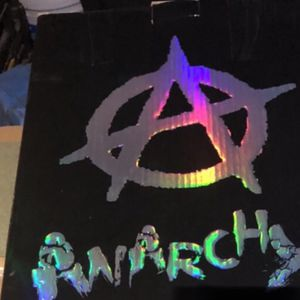 Anarchy Salute Poster for Sale in East Los Angeles, CA